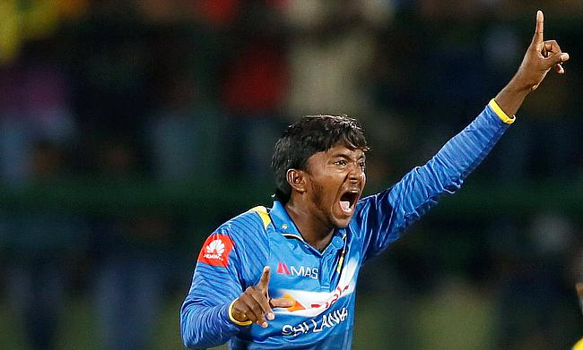 Akila Dananjaya picked eight wickets in two games