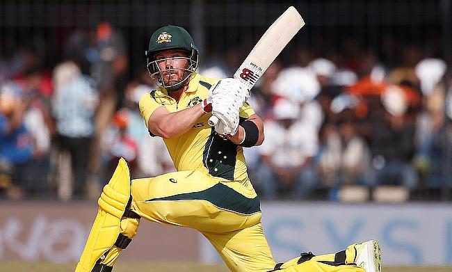 Aaron Finch's century went in vain for Australia in Indore
