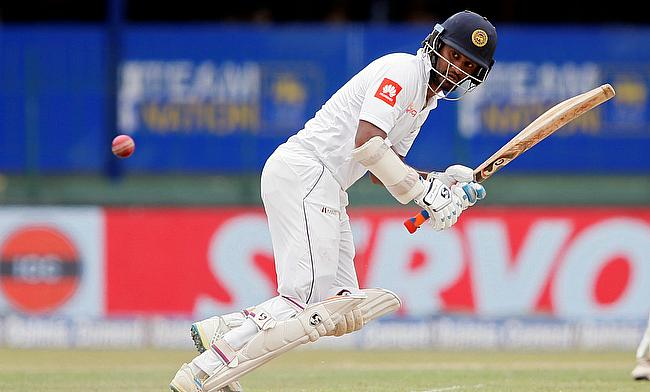 Dimuth Karunaratne scored 93 runs on day one