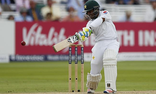 Asad Shafiq remained unbeaten on 87