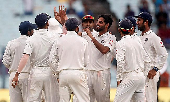Bhuvneshwar Kumar picked another four wicket haul