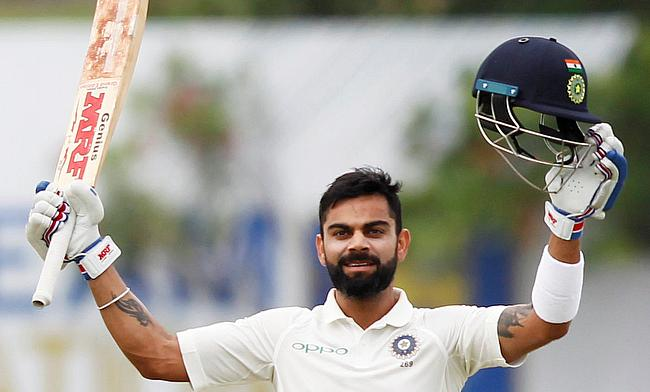 Virat Kohli scored yet another double century
