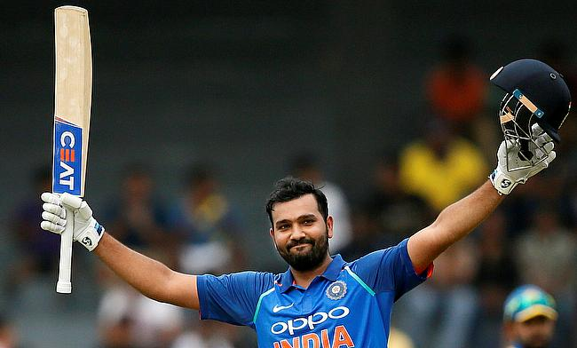 Rohit Sharma notched his third double century