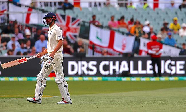 Alastair Cook had a disappointing series