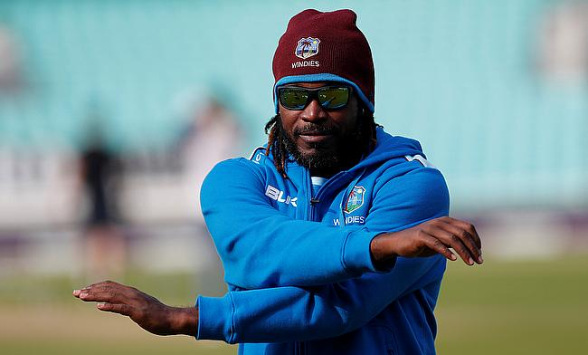 Chris Gayle scored 22 runs in the opening game