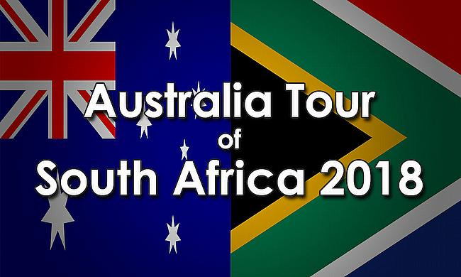 Australia tour of South Africa 2018