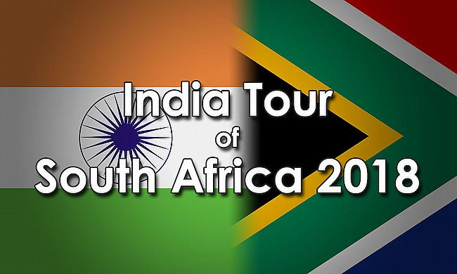 India tour of South Africa 2017-18