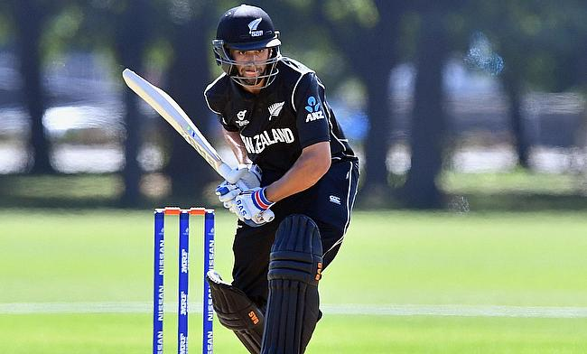 Jakob Bhula scored 83 runs for New Zealand U19 opening the batting
