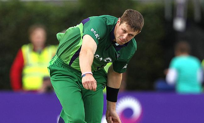 Boyd Rankin picked three wickets for Ireland