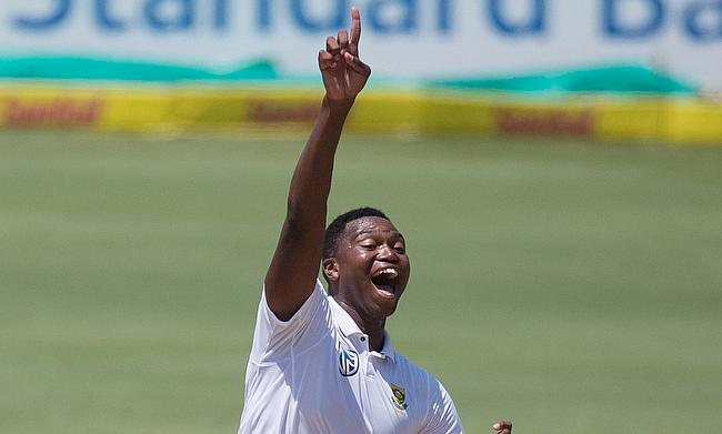 Lungi Ngidi impressed during the Test series against India