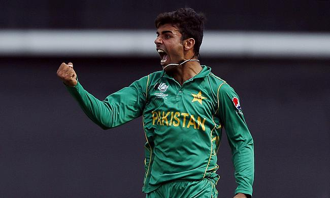 Shadab Khan came up with a man of the match performance