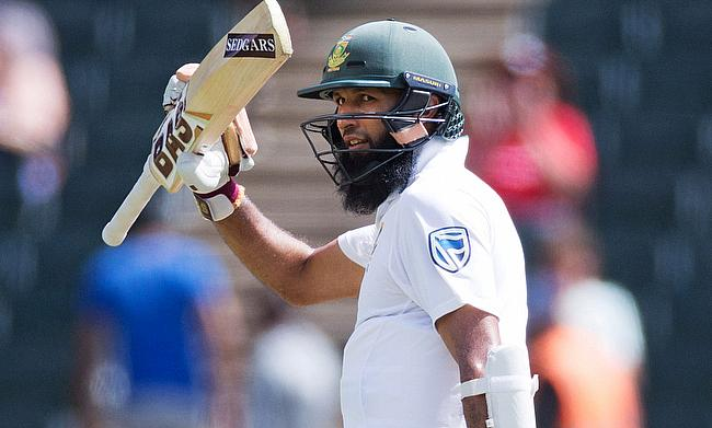Hashim Amla scored two half centuries on a tough pitch in Johannesburg