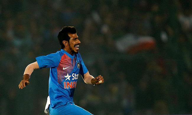 Yuzvendra Chahal was India's hero with the ball