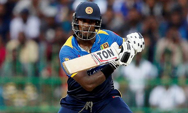Angelo Mathews has another injury setback