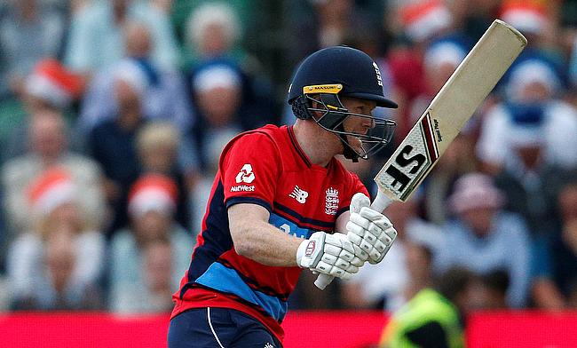 Eoin Morgan's efforts did not prove enough for England to reach final