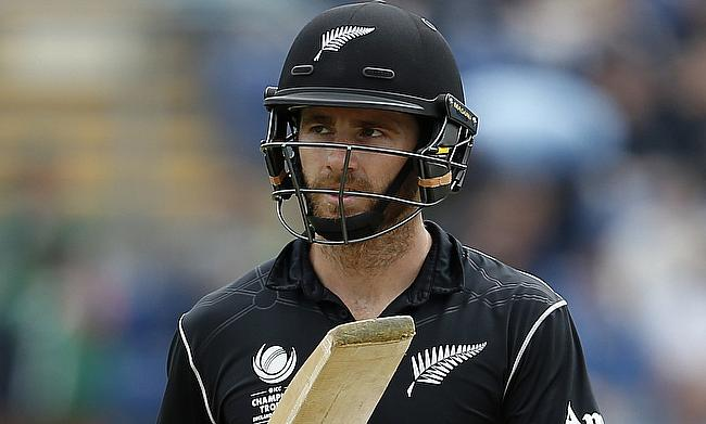 Kane Williamson is in doubt for the Bay Oval ODI