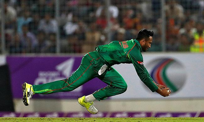 Shakib Al Hasan is recovering from a finger injury