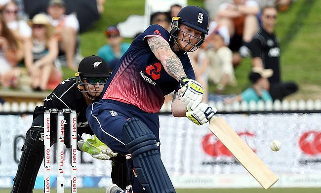 Ben Stokes (right) scored a half-century and also picked two wickets