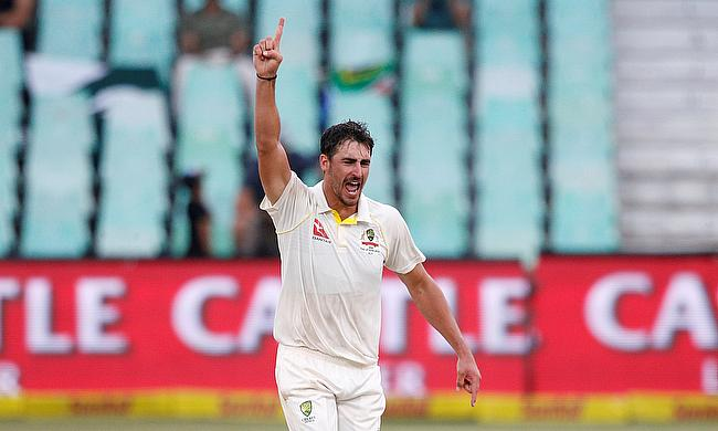 Mitchell Starc picked nine wickets in the game