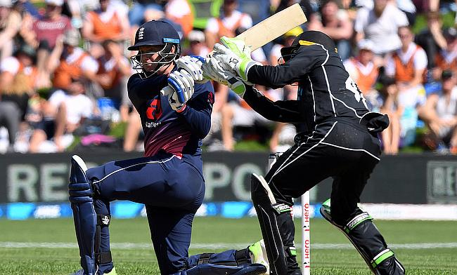 Jonny Bairstow (left) completed a 58-ball century