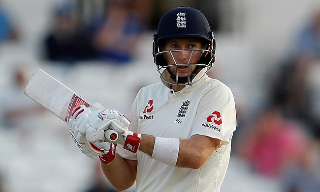 Joe Root scored an unbeaten half-century