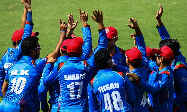 Afghanistan are the winners of ICC World Cup Qualifiers 2018 tournament