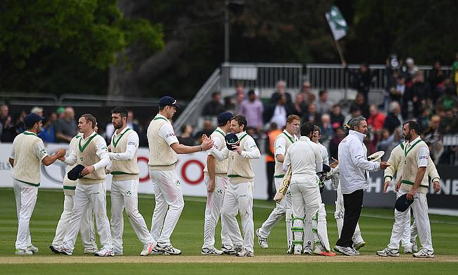 Pakistan win Historic First Test Match against Ireland