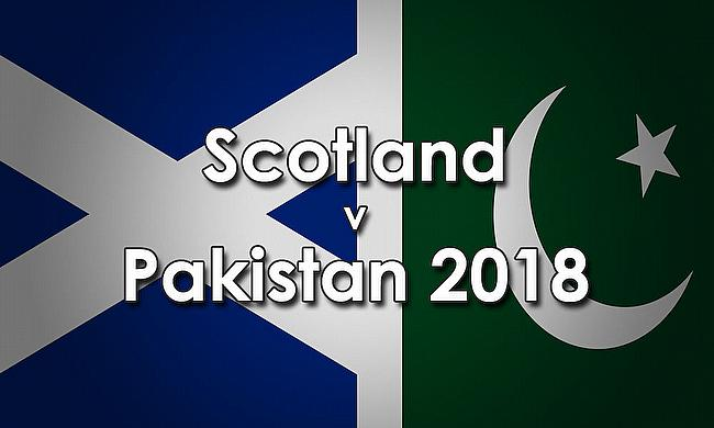 Pakistan tour of Scotland 2018