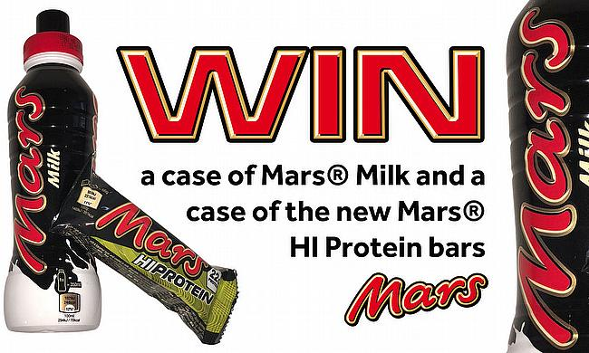Win a case of Mars Milk and a case of the new Mars HI Protein bars