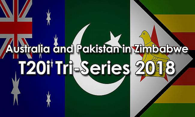 Australia and Pakistan in Zimbabwe T20I Tri-Series 2018