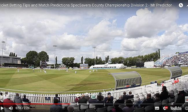 Cricket Betting Tips and Match Predictions SpecSavers County Championship Division 2  - Mr Predictor