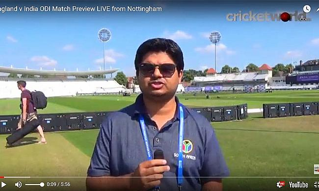 England v India ODI Match Preview LIVE from Nottingham