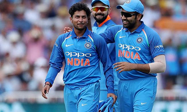 Kuldeep Yadav speaks with to the media after India win the 1st ODI