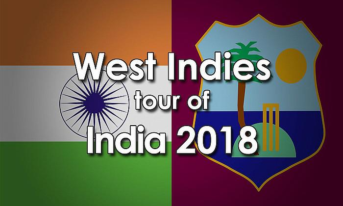 Windies Tour of India 2018