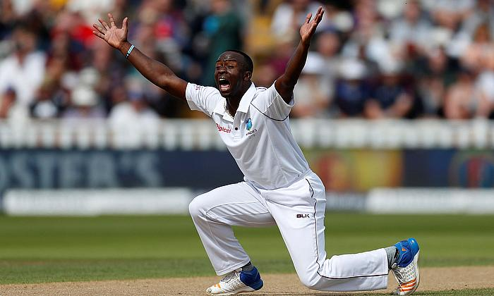 Kemar Roach returns home to Barbados from India Tour