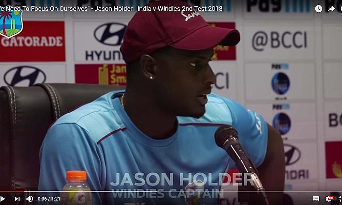 Jason Holder not fazed by comments after the WINDIES defeat by India