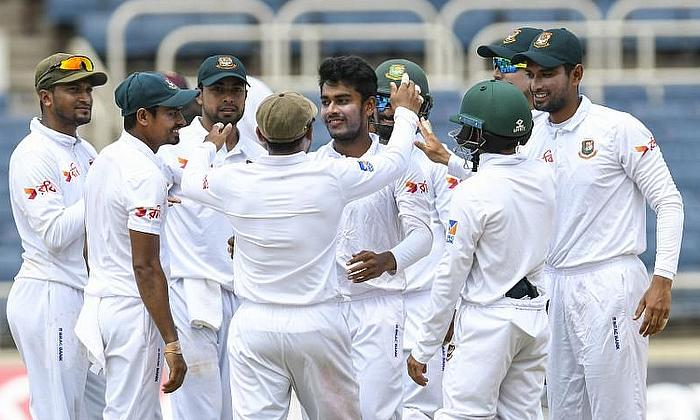 Bangladesh hit back on Day 3 against Zimbabwe in 1st Test