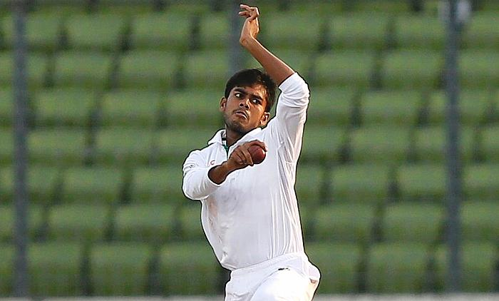 Bangladesh level Test series 1-1 with Zimbabwe in Mirpur