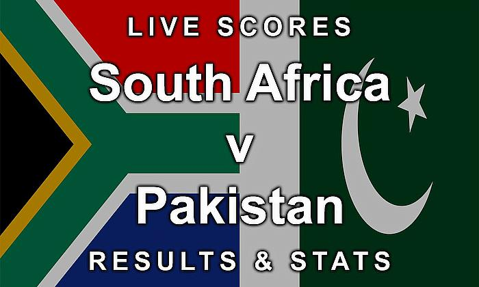 Live Cricket Streaming Scores - South Africa v Pakistan - Scores, Results and Stats