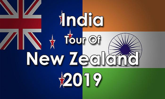 India tour of New Zealand 2019
