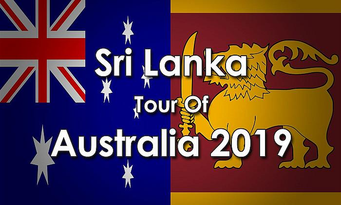 Sri Lanka tour of Australia 2019