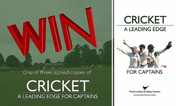 Win a copy of 'Cricket - A Leading Edge'
