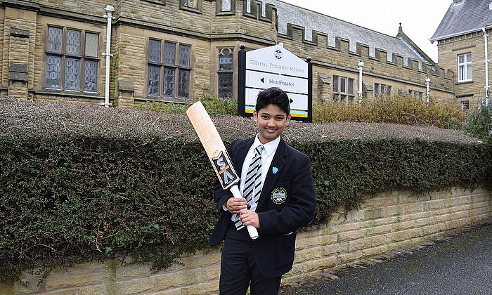 Rydal Penrhos Star Arran Gears up for India Tour with Lancashire u13 Squad