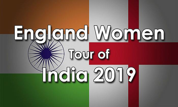 England Women tour of India 2019
