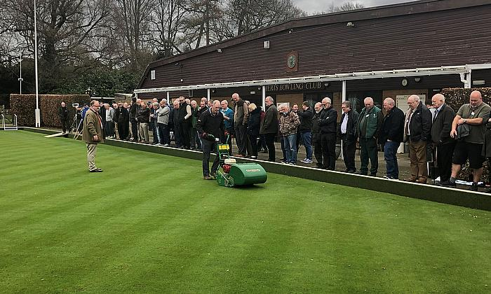 Dennis & SISIS Groundcare seminar widely praised.