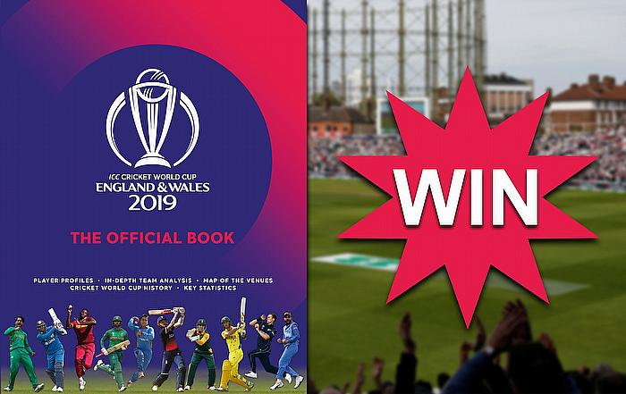 Win a copy of the ICC Cricket World Cup 2019 Official Book