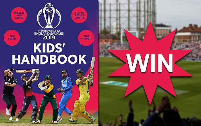 Win a copy of the ICC Cricket World Cup 2019 Kids' Handbook