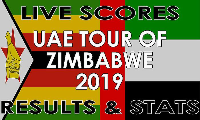 Live Cricket Streaming Scores - UAE Tour of Zimbabwe 2019 – Live Scores, Stats and Results