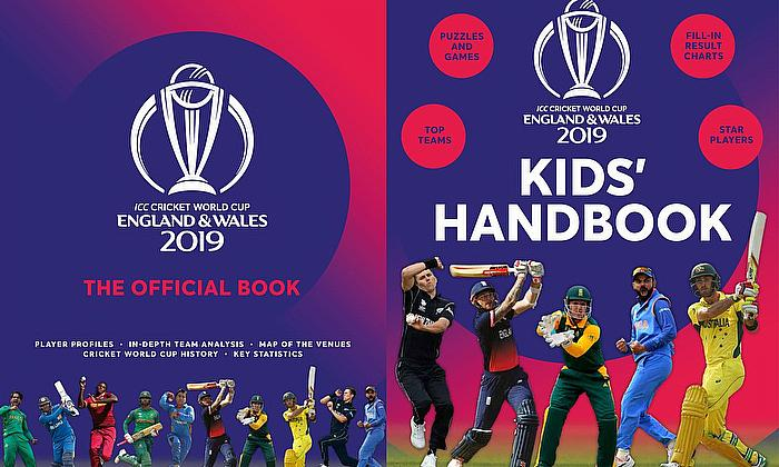 ICC Cricket World Cup 2019 – Official Books