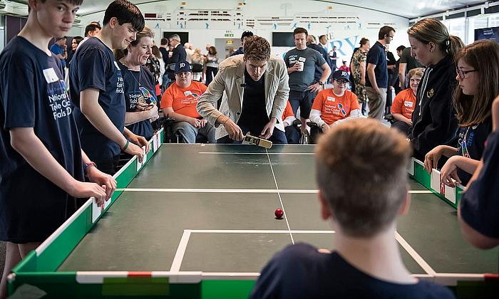 Greg James Lords Taverners Table Cricket Finals